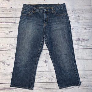 LUCKY Brand Jeans Ol Red Wing Classic Fit Crop 30